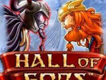 Hall of Gods online igra casino pin up